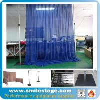 Cheap Aluminum Backdrop Stand Pipe and Drape for Wedding Decoration for sale