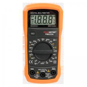 Cheap AC/DC 200mV PM830L Handheld Digital Multimeter 2000 Counts for sale