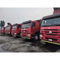 Cheap 400L 6 Cylinders Howo Diesel 375HP Used Dump Truck for sale