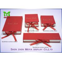 Paper Board Printed Custom Gift Packaging Boxes , earring / apparel gift boxes Manufactures
