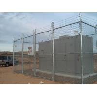Cheap Cyclone Wire Mesh Fence and  Chain Link Fencing 50mm For Airports and Power Stations for sale