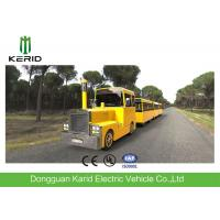 Cheap Metal Structure Mini Trackless Train 62 Seats For Amusement Park Diesel Powered for sale