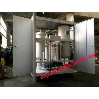 Cheap Dirty Turbine Oil Demulsifier Flushing Unit,Turbine Oil Dehydrator Removing Free Water and Dissolved Water,Emulsion lube for sale