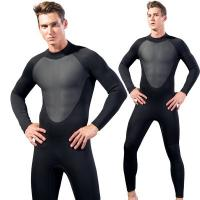 Buy cheap Ergonomic Design 2.5mm Mens Surf Wetsuits OEM Service Neoprene Diving Suit from wholesalers