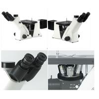 Cheap Infinity Optical Inverted Metallurgical Microscope , Mechanical Stage Microscope for sale
