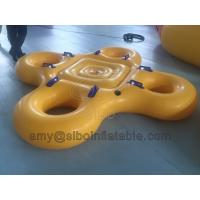 Buy cheap 0.75 Pvc Material Inflatable Ski Water Tube Portable Inflatable Swim Ring For from wholesalers