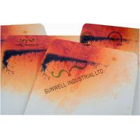 Cheap Double Window Custom Packaging Envelopes Multi Colors Autumn Full Printing for sale