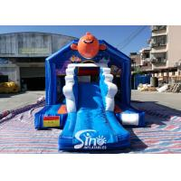 Cheap Bouncy Castle With Slide Combo Jumper For Inflatable Games for sale