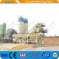 Cheap Discharging Quickly HZS90 90m³/H Concrete Batching Systems for sale