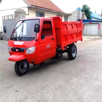 Cheap Agricultural Semi Enclosed Mini Farm Diesel Tricycle for sale