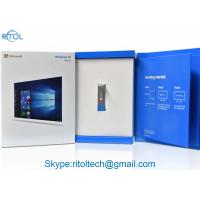 Buy cheap Microsoft Windows 10 Operating System Home OEM Pack 32 / 64 Bit English from wholesalers
