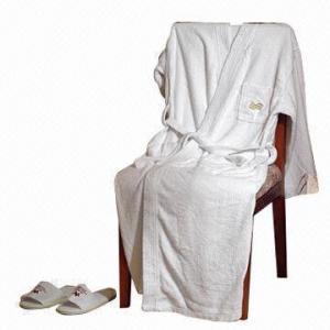 Cheap Hotel bath robe for men/women, cotton towel bath robe for sale