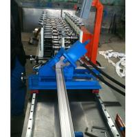 Cheap Automatic Stud Roll Forming Machine / Track Roll Forming Machine PLC Control for sale