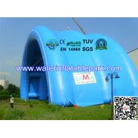 Buy cheap Waterproof PVC Tarpaulin Inflatable Tent / Inflatable Arch Tent With Big Span from wholesalers