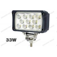 Cheap IP67 33W 6 Inch LED Truck Work Lights Easy Replace For 4WD / Off Road for sale