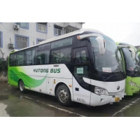 Cheap Used Yutong Buses Zk6858 35 Seats Steel Chassis Single Door Used Passenger Bus for sale
