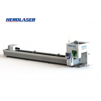Cheap Easy Operation CNC IPG Laser Tube Cutting Machine , Fiber Laser Cutting System for sale