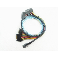 Cheap SFF 8087 To 4x SFF 8482 Internal Serial Attached SCSI Cable for sale