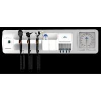 China Wall Mounted ENT Diagnostic Set With Ophthalmoscope / Otoscope / Nasal Speculum on sale
