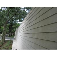 Quality Wood Look Fiber Cement Panel Siding Modern Building Material For Wall Decoration wholesale
