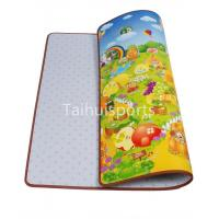 Quality Kids Cushioned Playmat Soundproofing / Cushioned Baby Play Mat Non Toxic wholesale