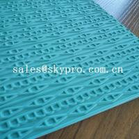 Cheap Customized eva+ rubber foam sheet for sole soft  with 3D pattern for sale