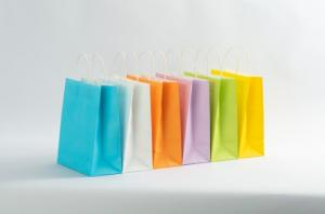 Cheap Ivory Board Pantone 30gsm Paper Food Bags for sale