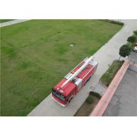 Boom Extending Time ≤60s Huge Fire Truck With Italian AUTEC Wireless Remote Controller