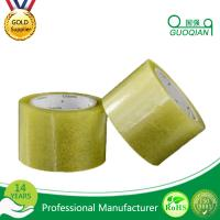 Custom Quiet Transparent Packing Tape , Personalized Rubber Adhesive Tape Free Sample