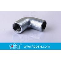 BS4568 Conduit Fittings 25mm  Malleable Iron Solid Elbow , 90 Degree Pipe Bent