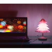 Cheap Christmas Tree Decorative Led Night Light With Touch Sensor Switch And Color Changes for sale
