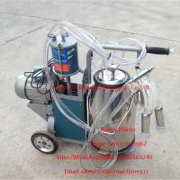 Electric Motor Piston Mobile Milking Machine Dairy Milking Equipment Manufactures