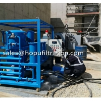 Cheap Onsite Working High Vacuum Transformer Oil Treatment System, FR3 Silicon Oil Purification Plant for sale
