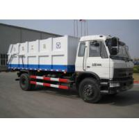 Cheap Sealed carriage Waste Collection Vehicles, Garbage Dump Truck, Dump trucks, XZJ5120ZLJ for city sanitation for sale