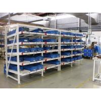Cheap Industrial Rolling Carton Flow Rack Cold Rolled Steel Material High Visibility for sale