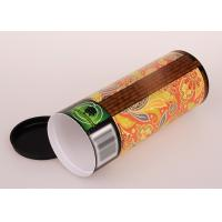 Cheap Creative easy carry tissue Paper Tube Packaging for sale