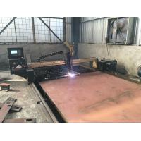 Cheap USB Transmission 50HZ / 60HZ Steel Metal Plasma CNC Cutting Machine With THC for sale