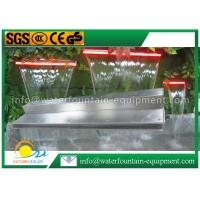 China Outdoor Water Fountain Accessories Pond Waterfall Blade With Remote Controller on sale