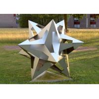 Buy cheap Wangstone Decoration Stainless Steel Star Sculpture 150cm Height Regular Size from wholesalers