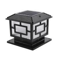 Buy cheap High Brightness Solar Pillar Lights Outdoor / Solar Outside Security Lights from wholesalers