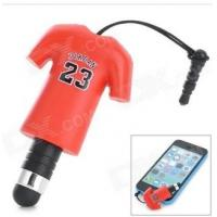 Cheap Jordon NO.23 Sport T Shirt Dust-Proof Plug Touch Screen Stylus Pen For Iphone Ipad for sale