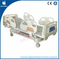 Linak Motor Medical Hospital Beds Cold Rolled Steel And Two Columns System With Certificate Of