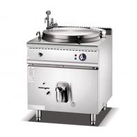 Cheap Electric Jacketed Boiling Pan With 150 Liters Steam Kettle Boiler Machine for sale