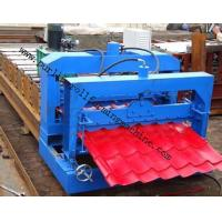 Buy cheap Metal Roof Forming Machine Glazed Tile Cold Forming Machin Color Steel Glazed Roofing Tile Making Machine from wholesalers