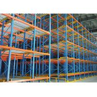 Cheap Live Dynamic Storage Carton Flow Rack Bule Coating For Industrial Warehouse for sale