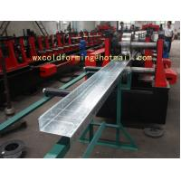 Buy cheap C / Z Shape Automatic Changable Purlin Roll Forming Machine Hydraulic Punching from wholesalers