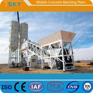 Cheap ISO HZS100 100m³/H Portable Concrete Batch Plant for sale