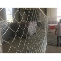 Cheap temporary chain link fence panels for sale