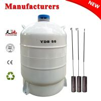 Buy cheap TIANCHI liquid nitrogen storage tank 50L in Palestine from wholesalers