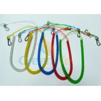 Cheap Retractable Coiled Fishing Tool Lanyard for sale
